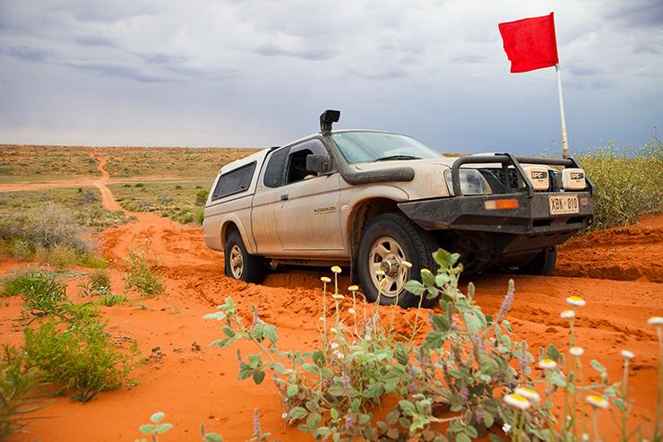 4x4 in the Simpson Desert