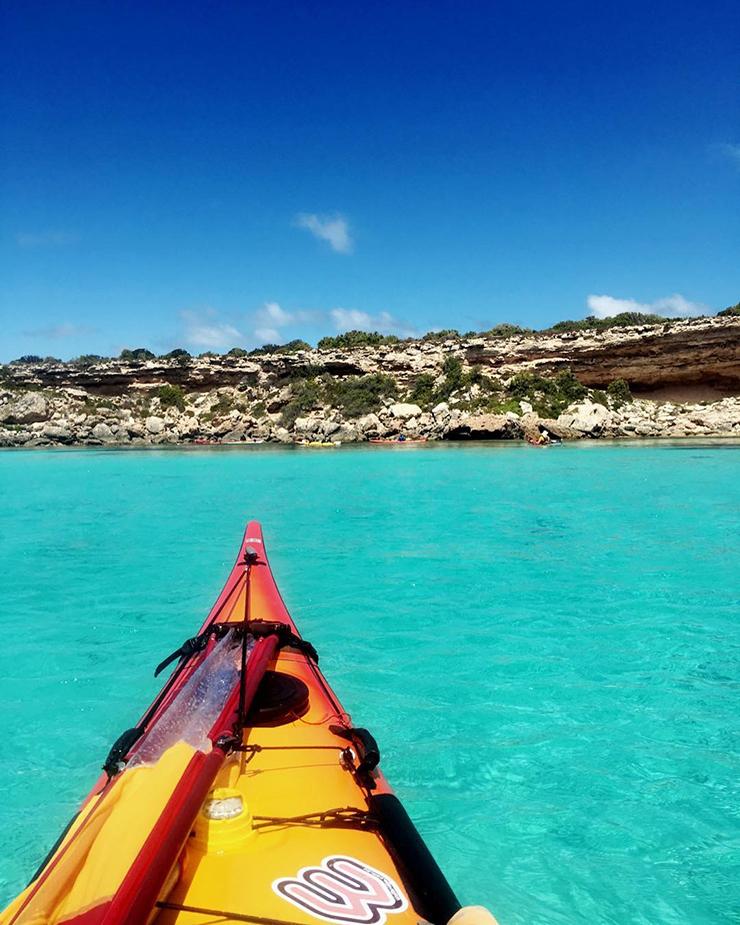 Kayaking at Memory Cove